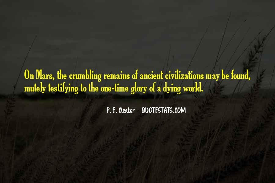 World Crumbling Quotes #258035