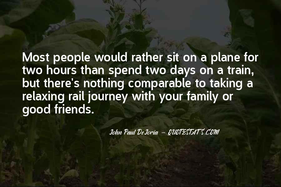 Quotes About Two Good Friends #111679