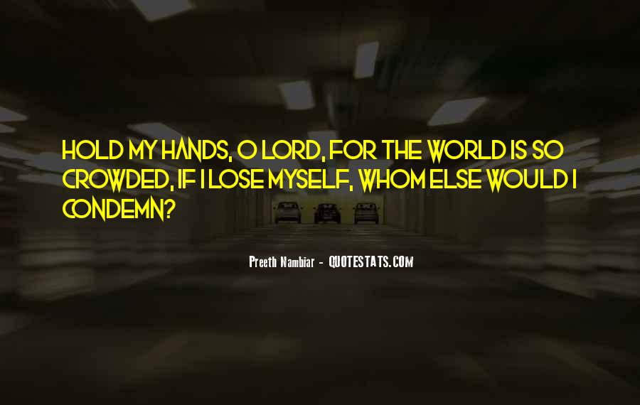 World In My Hand Quotes #1189597