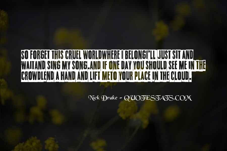 World In My Hand Quotes #544152