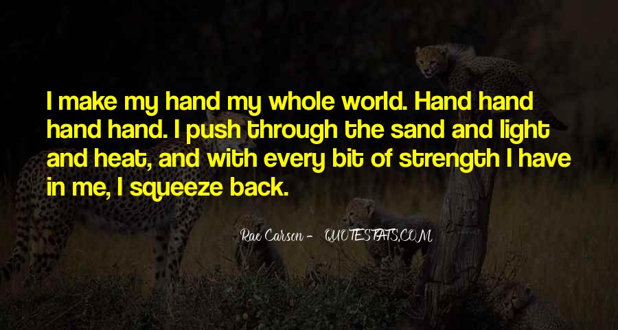 World In My Hand Quotes #750683
