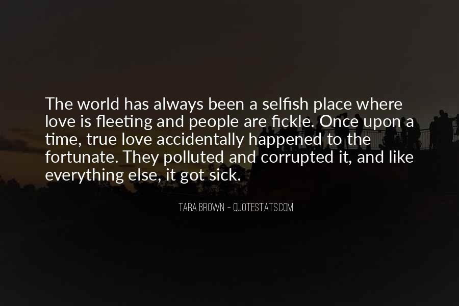 World Is Sick Quotes #1522161