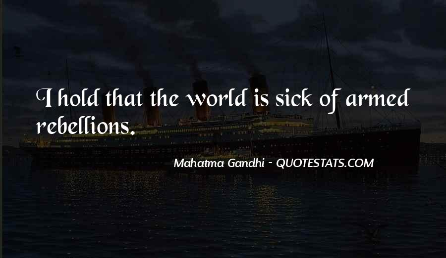 World Is Sick Quotes #900295