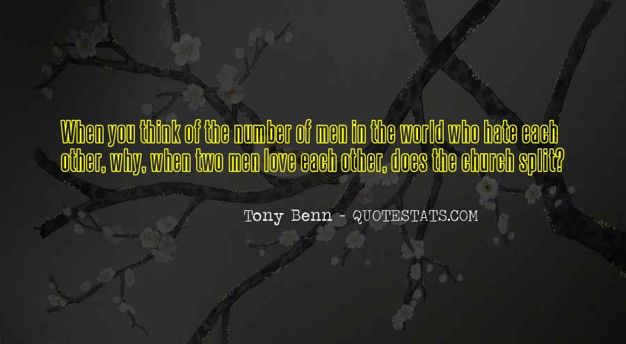 World Of Hate Quotes #139927
