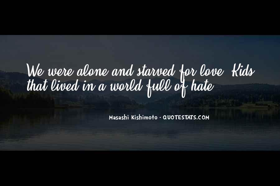 World Of Hate Quotes #148768