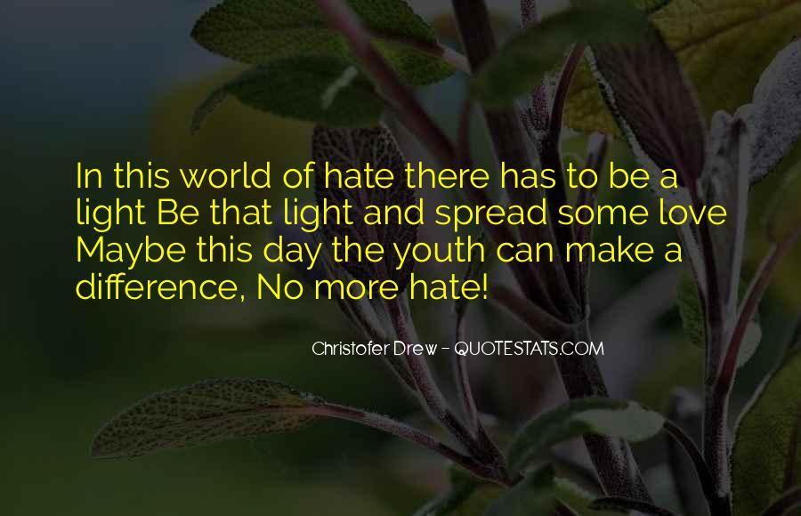 World Of Hate Quotes #195889