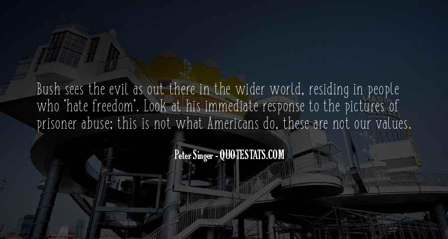 World Of Hate Quotes #2064
