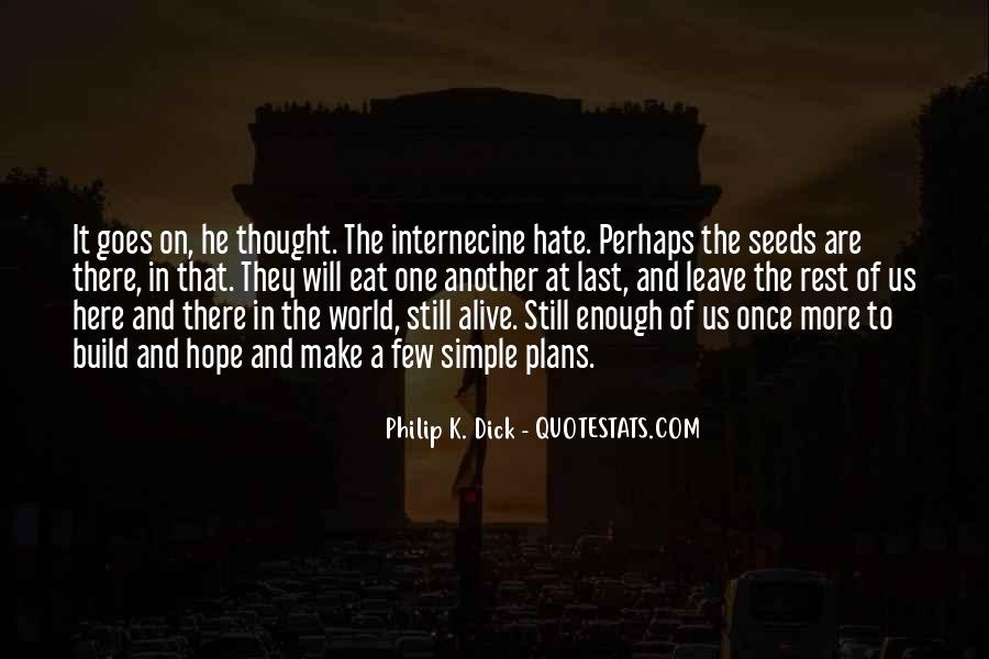 World Of Hate Quotes #239116