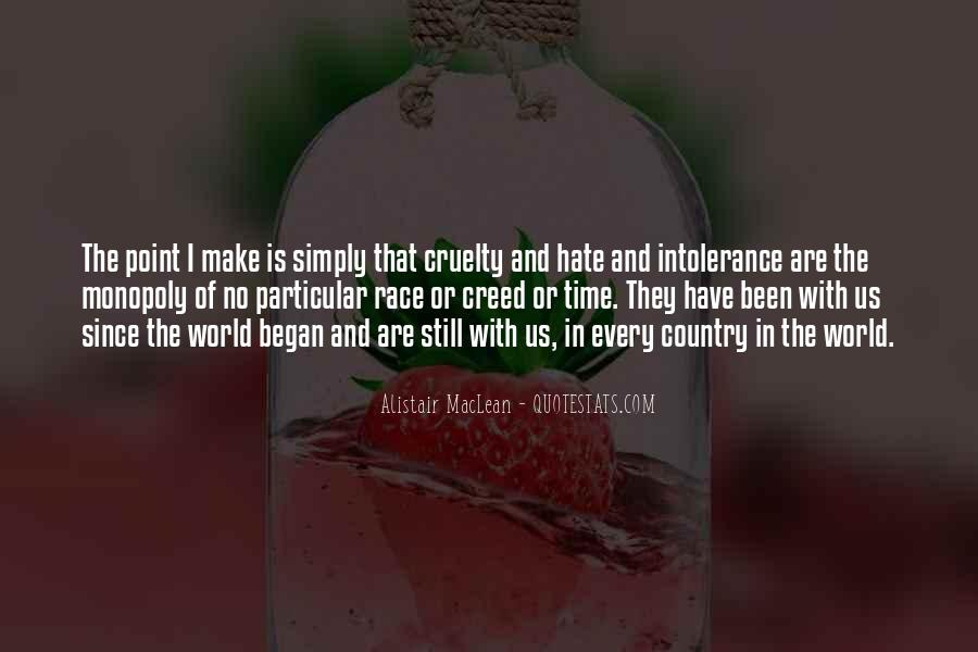 World Of Hate Quotes #422216