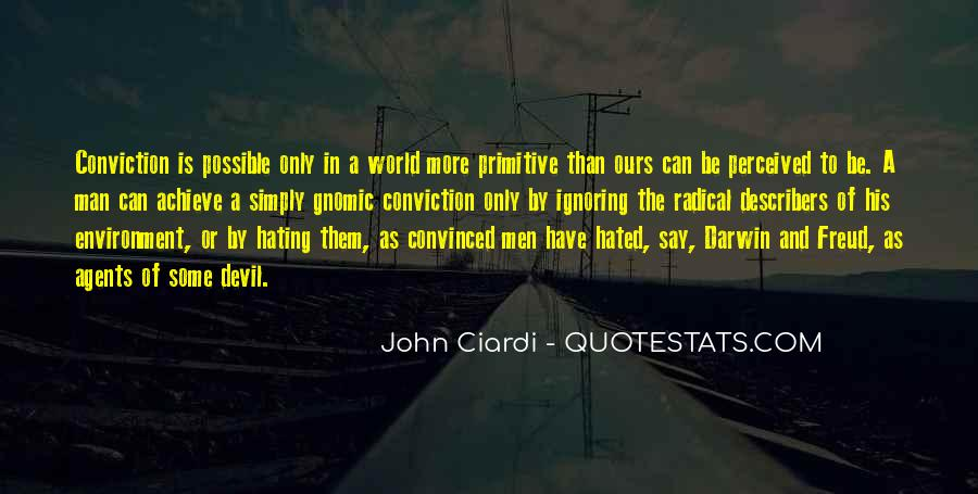 World Of Hate Quotes #488937