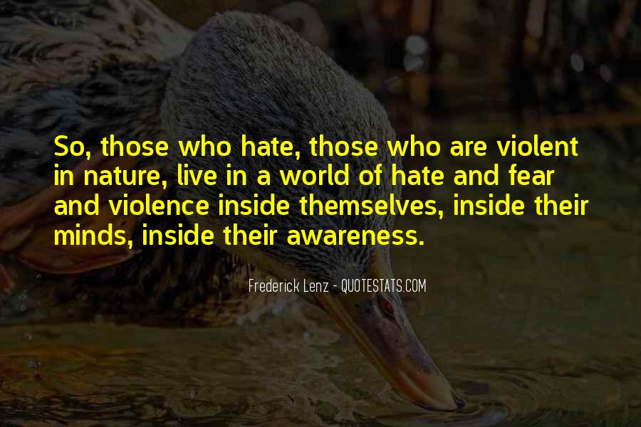 World Of Hate Quotes #596065