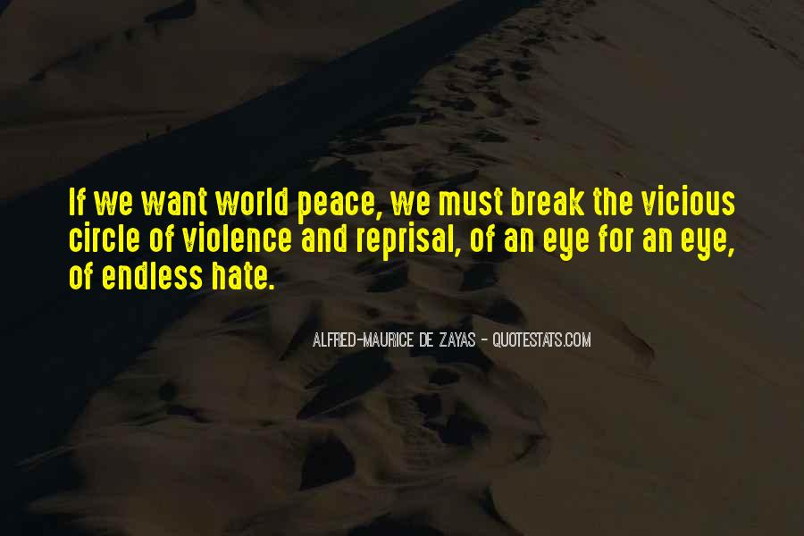 World Of Hate Quotes #599493