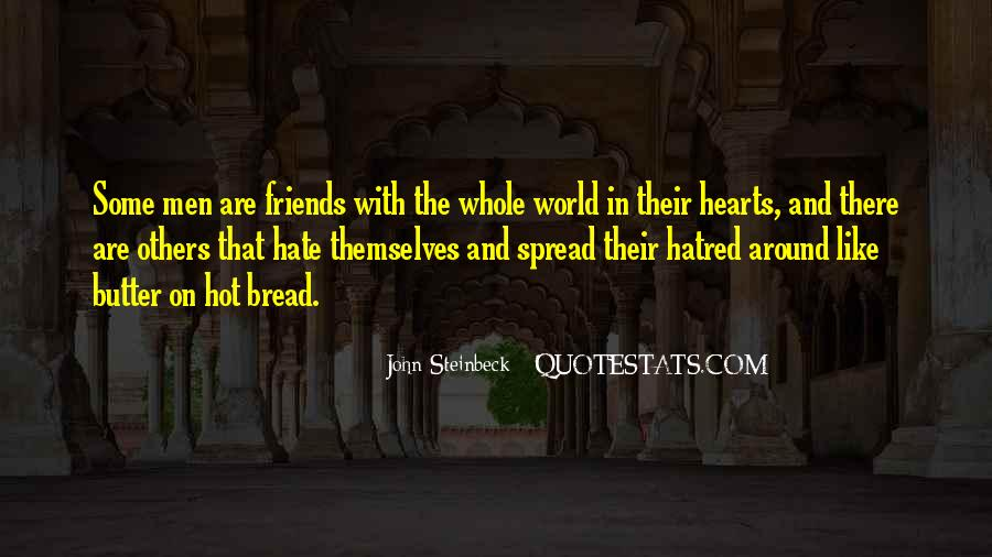 World Of Hate Quotes #616349
