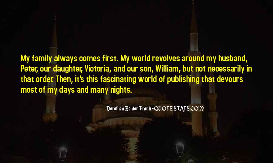 World Revolves Around You Quotes #139878