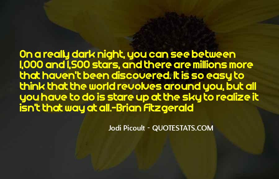 World Revolves Around You Quotes #408538