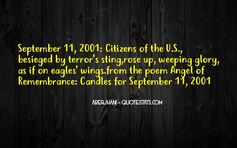 World Trade Center Remembrance Quotes #805235