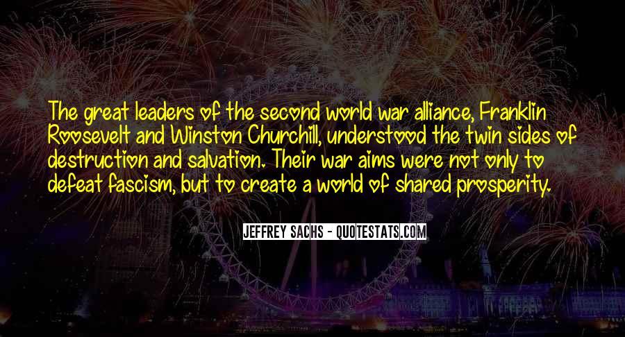 World War One Alliance Quotes #634938