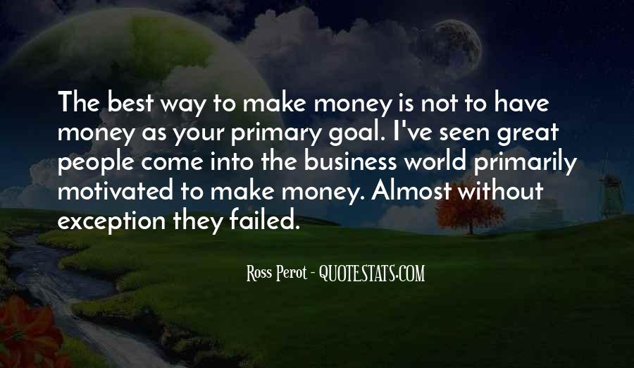 World Without Money Quotes #355416
