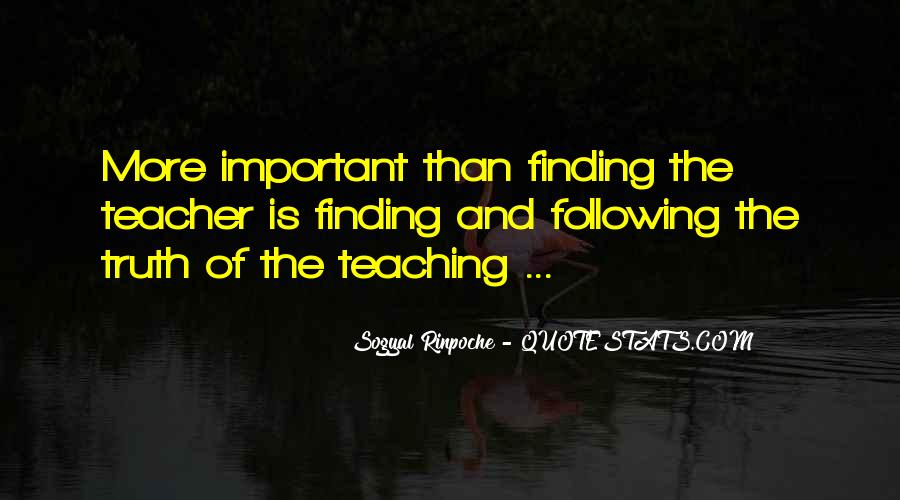Quotes About Finding Your Truth #196616