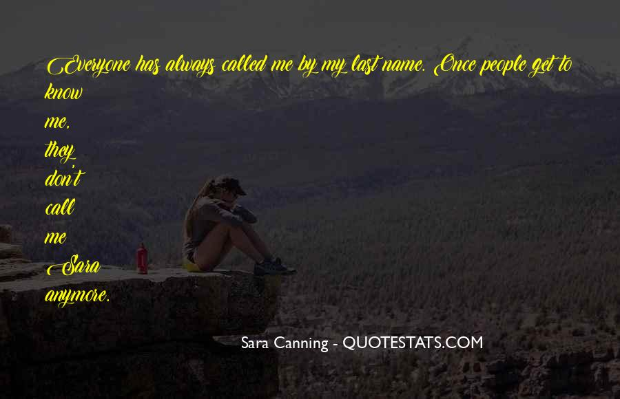 Quotes About Canning #444985