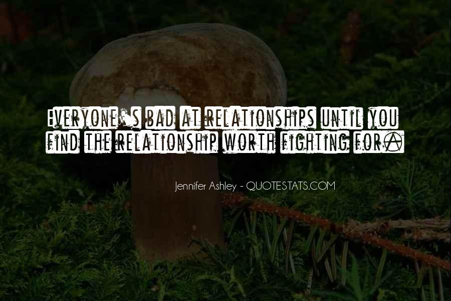 Worth Fighting Relationship Quotes #968395