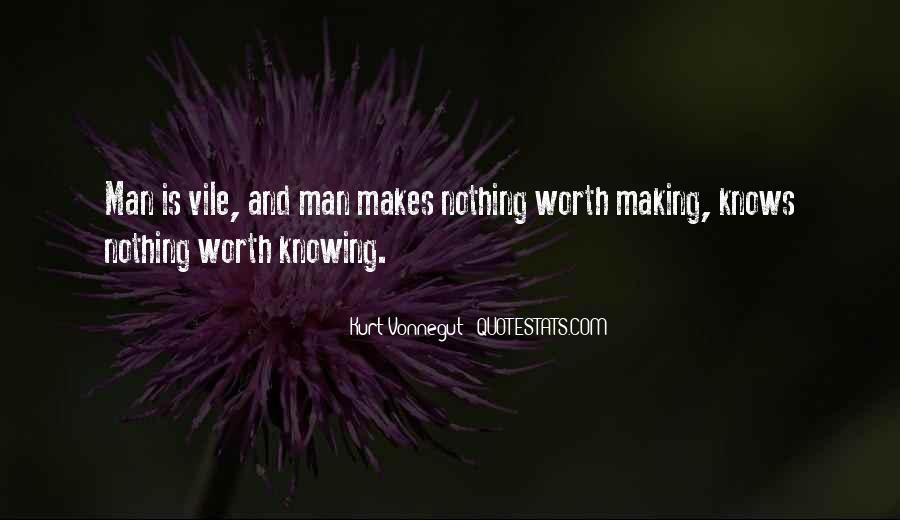 Worth Man Quotes #101178