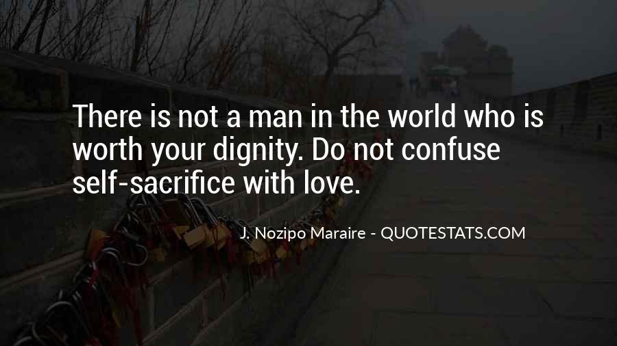 Worth Man Quotes #104884