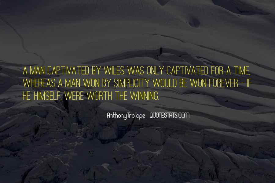 Worth Man Quotes #119953
