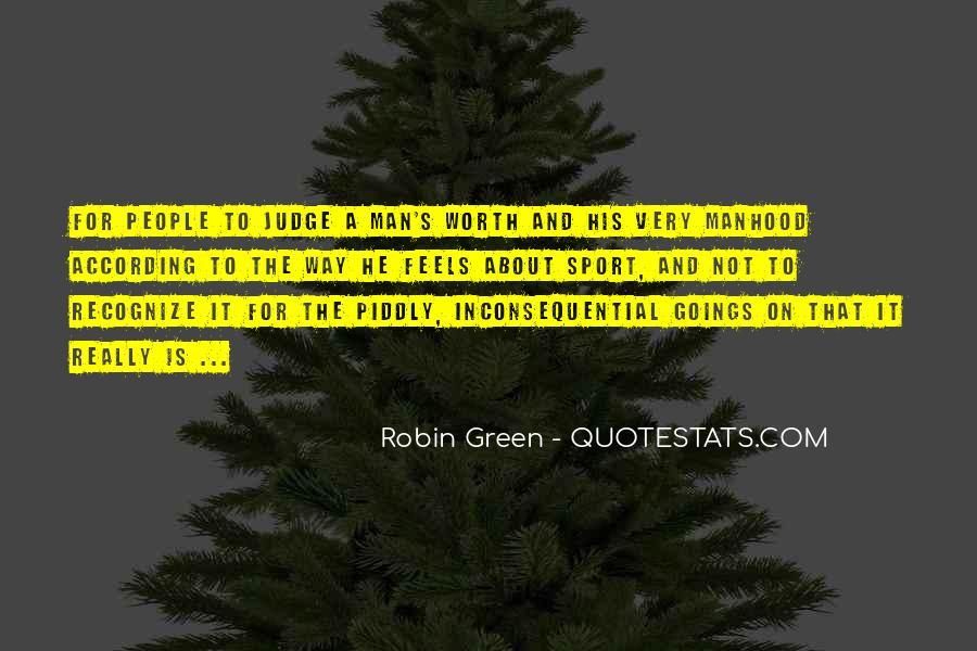 Worth Man Quotes #129351