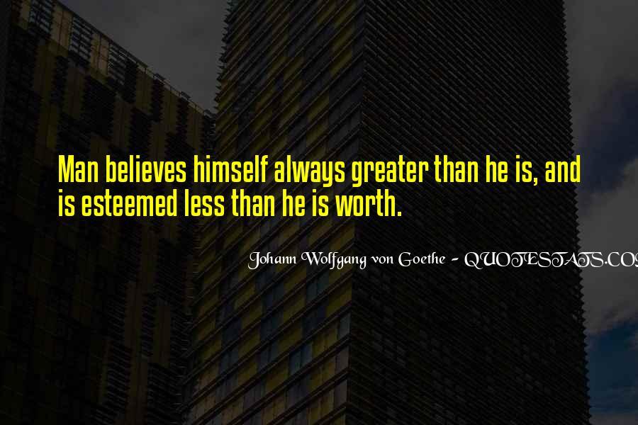 Worth Man Quotes #142643
