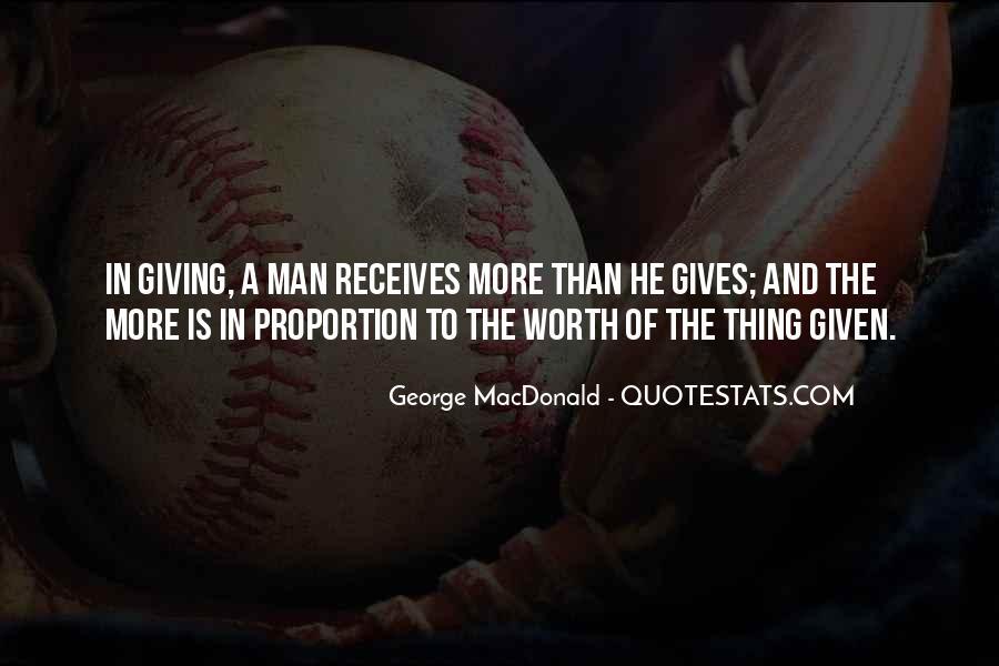 Worth Man Quotes #162186