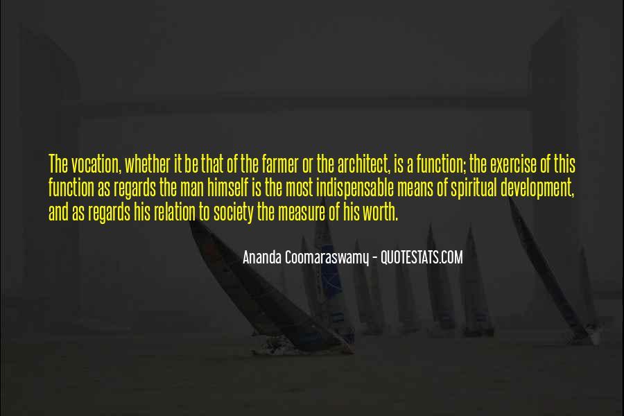 Worth Man Quotes #16777