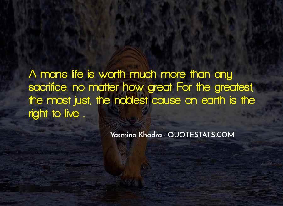 Worth Man Quotes #199739