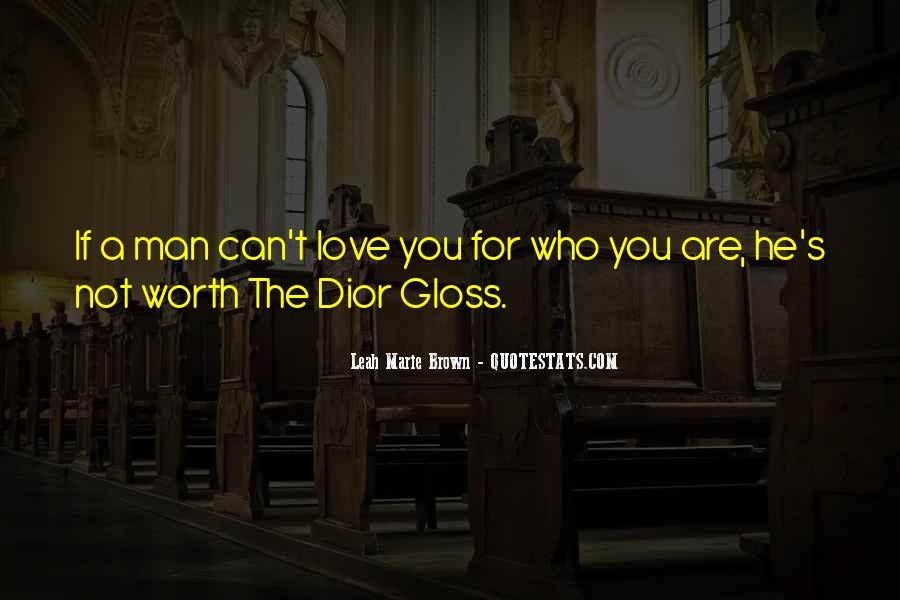 Worth Man Quotes #21059