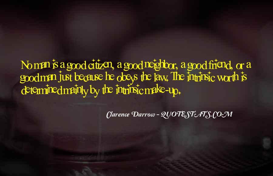 Worth Man Quotes #218019