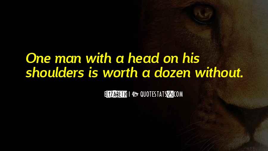 Worth Man Quotes #22281