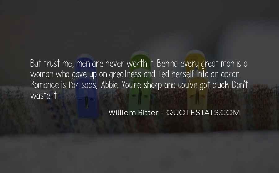 Worth Man Quotes #230420