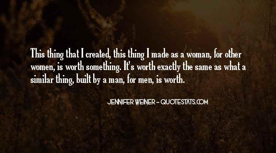 Worth Man Quotes #230812