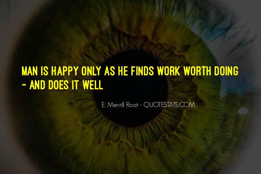 Worth Man Quotes #268357