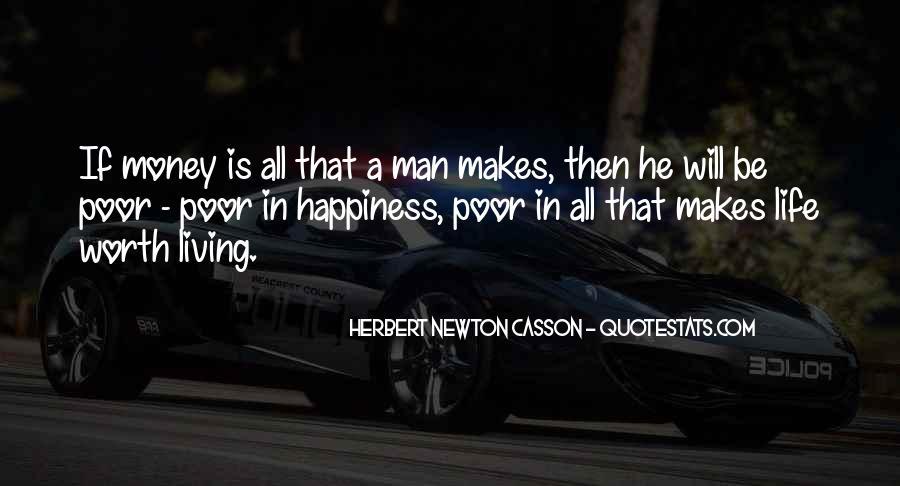 Worth Man Quotes #275848
