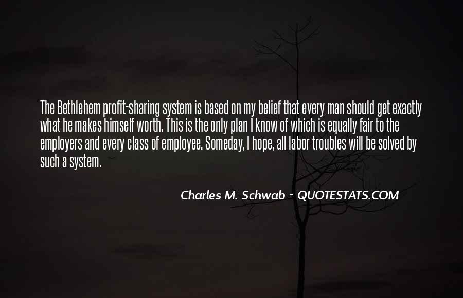 Worth Man Quotes #283920