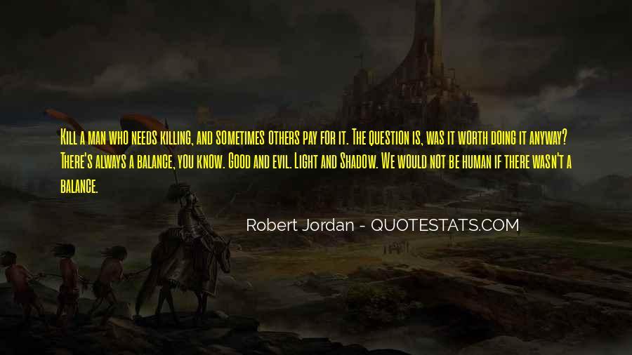 Worth Man Quotes #296397