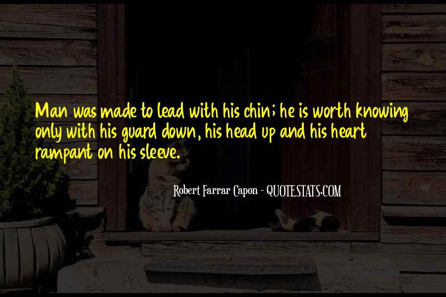 Worth Man Quotes #300985