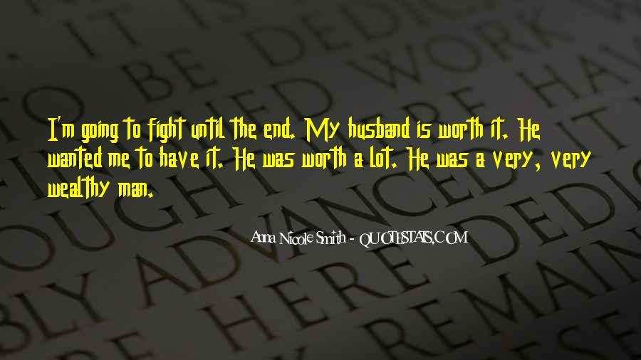 Worth Man Quotes #305657