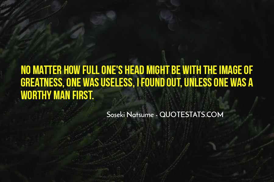 Worth Man Quotes #308375