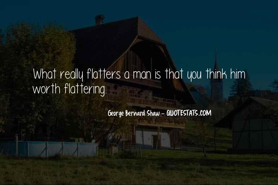 Worth Man Quotes #319296