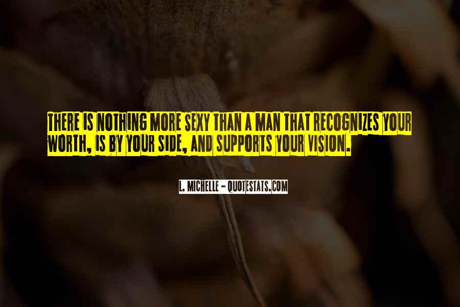 Worth Man Quotes #33927
