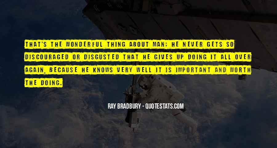 Worth Man Quotes #43107