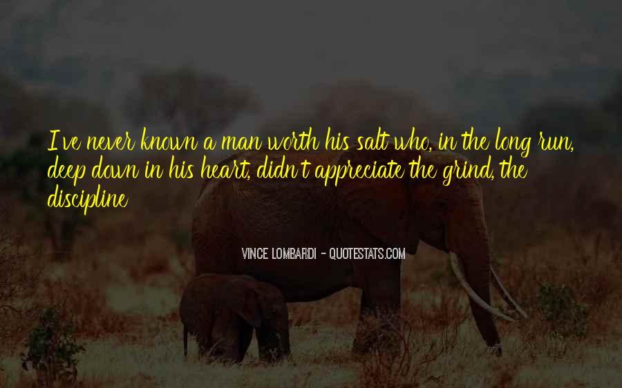 Worth Man Quotes #45329