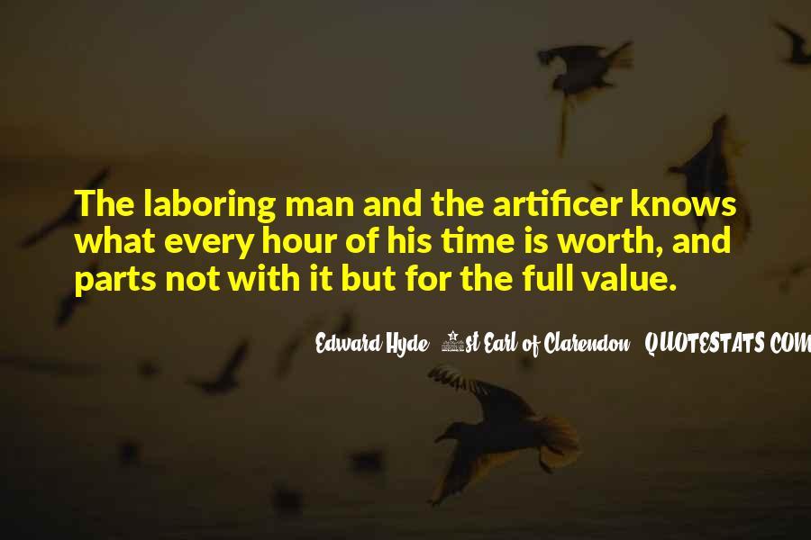 Worth Man Quotes #56157